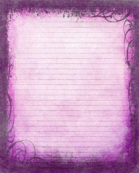 printable journal page instant  purple digital