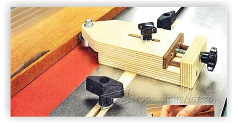 table  thin rip jig woodarchivist
