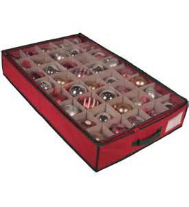 ornament storage box underbed in ornament storage boxes