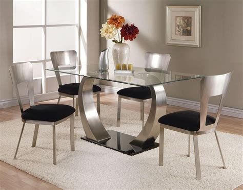 dining room glass tables sets dining room ideas