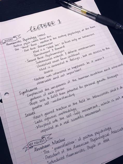 perfect handwriting examples