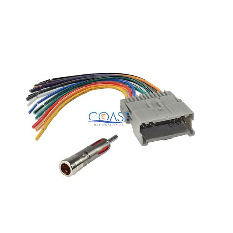 For Gm Radio Wiring Harnes Connector by Car Stereo Radio Wiring Harness Antenna For 2000 Up Buick
