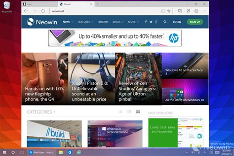 gallery windows 10 insider preview build 10074 neowin