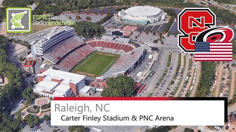 Carter Finley Stadium & PNC Arena (Raleigh) NC State ...