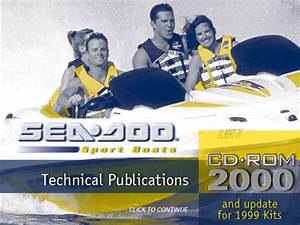 Sea Doo Sport Boats Challenger  U0026 Speedster  U0026 Sportster Pdf