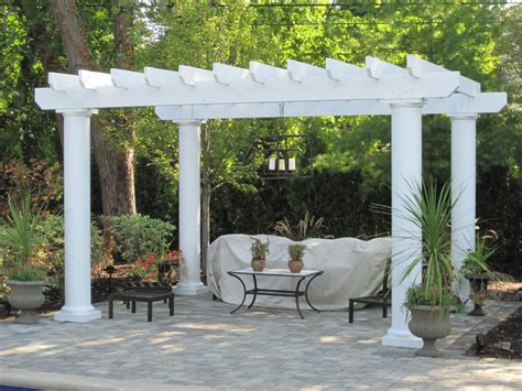 picture of pergola backyard america pergola kits columbus decks porches and patios by archadeck