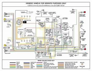 1948  U0026 1949 Chevy Truck Color Wiring Diagram