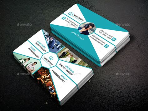 photography business card design  twingraphic graphicriver