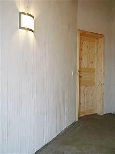 Verputzte Wand Tapezieren : innend mmung mit schilf d mmung eines fachwerkhaus hiss reet ~ Markanthonyermac.com Haus und Dekorationen
