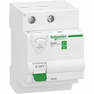 Interrupteur Differentiel Hager 63a Type Ac : interrupteur diff rentiel 2p 63a 30ma type ac embrochable ~ Edinachiropracticcenter.com Idées de Décoration