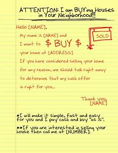gallery of i want to buy your house letter template With i want to buy your house yellow letter