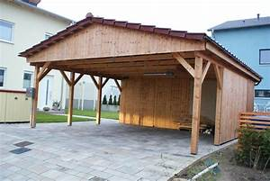 Aluminium Carport Aus Polen : carport 6 00 x 9 00 m satteldach 25 fichte kvh natur ~ Articles-book.com Haus und Dekorationen