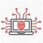 Icon Attack Cyber Hack Network Leak Device