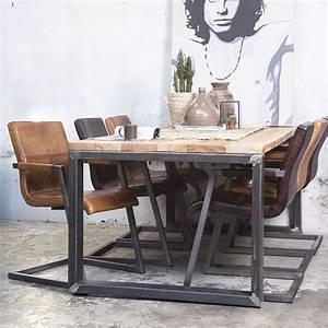 Esstisch Holz Metall Design : industrie esstisch 200 x 100 cm esszimmertisch dinnertisch massivholz metall in 2019 m bel ~ Buech-reservation.com Haus und Dekorationen