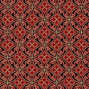Bettwäsche Orientalisches Muster : roter orientalischer stoff gold muster robert kaufman ornament stoffe stoffe shop modes4u ~ Whattoseeinmadrid.com Haus und Dekorationen