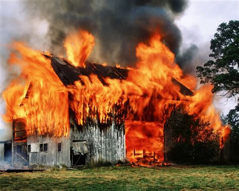 Barn Fires by Farm Insurance Archives Grenville