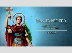 Hoy es la fiesta de San Expedito, mediador ante problemas