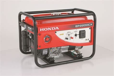 Honda Ep2200cx 2.2kw 4 Stroke Petrol Generator