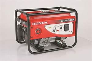 Honda Ep2200cx 2 2kw 4 Stroke Petrol Generator