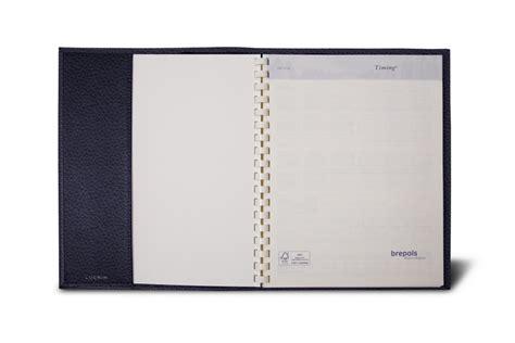 agenda de bureau agenda de bureau rechargeable en cuir