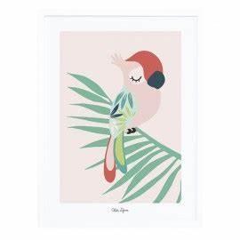 affiche chambre d39enfant plumes et etoiles lilipinso With affiche chambre bébé avec fleur roses