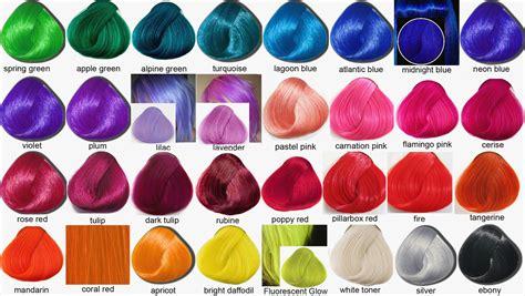 Pravana Hair Color Chart Vivids