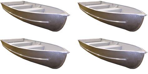 Aluminum Fishing Boat Hull Type by Launch 12 Aluminum V Hull Boat 4 Pack