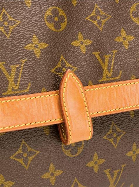 louis vuitton brown monogram clutch bag  sale  stdibs