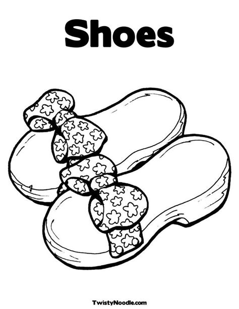 shoes coloring pages shoe coloring pages to and print for free