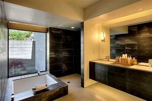 Hillside house - master bathroom - Modern - Bathroom ...