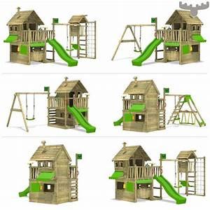 Maison Enfant Castorama : maisonnette de jeux avec balan oire et toboggan countrycow ~ Premium-room.com Idées de Décoration