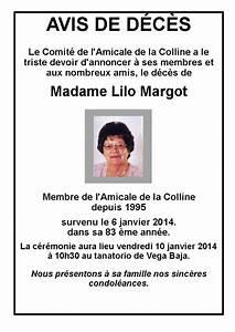 Avis De Deces Marmande 47 : 2014 amicale de la colline ~ Dailycaller-alerts.com Idées de Décoration