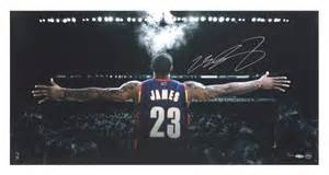 lebron autographed witness photo picture pictures photos limited edition signed