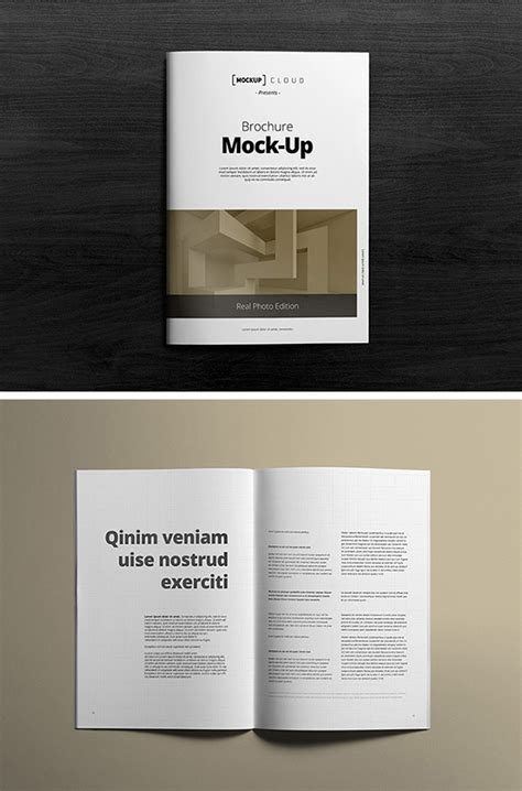 A Collection Of Free Psd Brochure Mockups 20 Best Free Brochure Mockups 2018 Themelibs