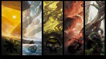 Land Zendikar Mtg Wallpapers Artwork Gathering Magic
