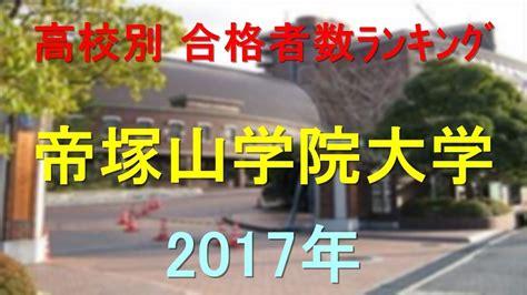 帝塚山 大学 偏差 値