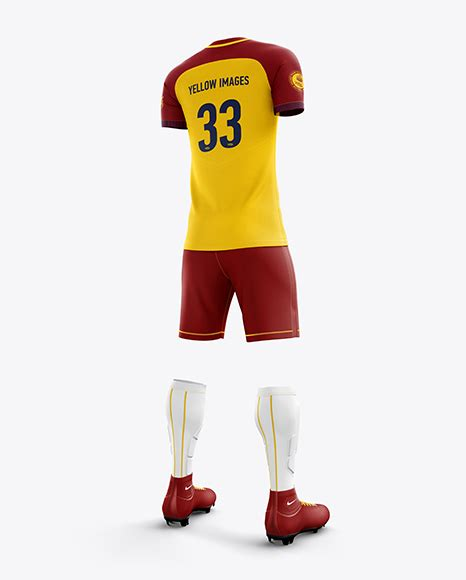 Check it out in a mockup! Men's Full Soccer Team Kit mockup (Front View) - Men's ...