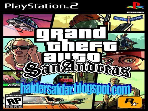 Gta San Andreas Game Free Download Full Version