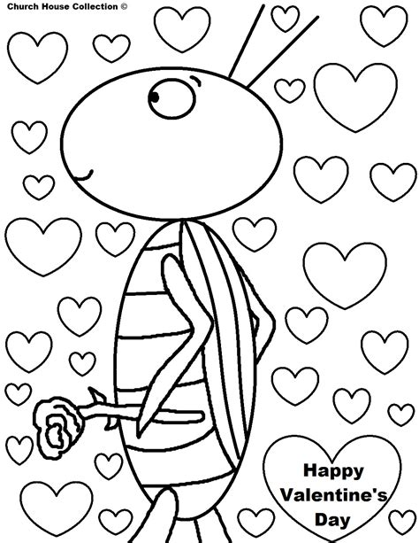 valentines day coloring sheets church house collection s day coloring