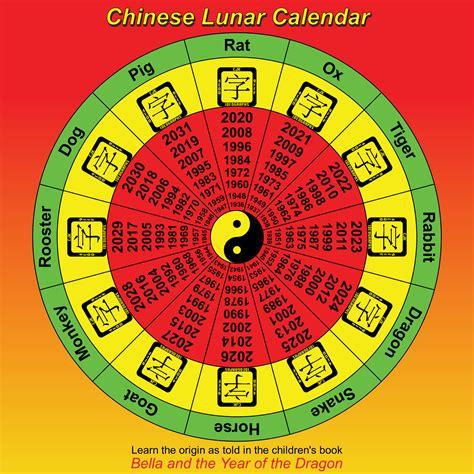 clipart chinese lunar calendar