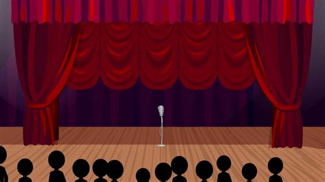 stage curtains for rising curtains stage background motion