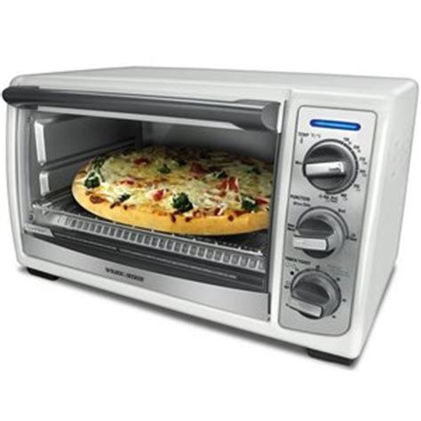 Black Decker Toaster Oven Reviews - black decker 4 slice convection toaster oven tro4075