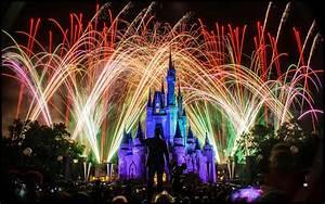 Disney Castle At Night With Fireworks   www.pixshark.com ...