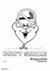 Coloring Smoke Don Pages Smoking Designlooter Printable Getcolorings 26kb 750px sketch template
