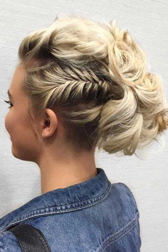 lovely short hair updos   perfect  everyday