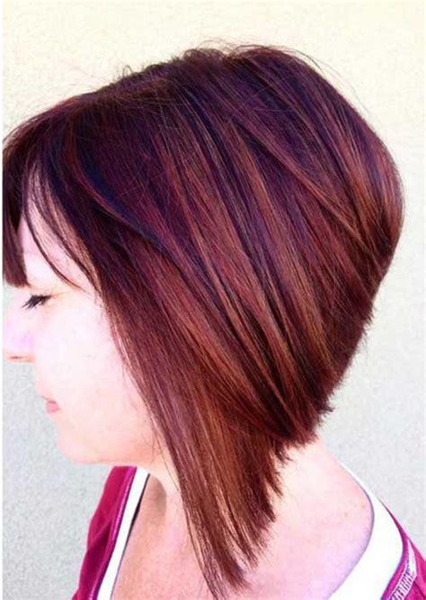 angled bob hairstyles short hairstyles