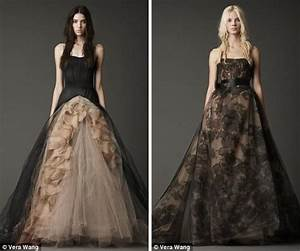 would you get married in black vera wang thinks you should With black vera wang wedding dress
