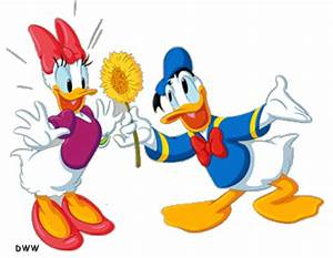 Donald Duck Daisy Duck Cartoon   Donald and Daisy - donald ...