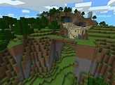 life360: Lava, Waterfalls, Land Bridges | Minecraft PE Seeds