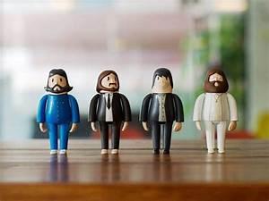 Piccole Riproduzioni Giocattolo Dei Beatles Stampate In 3d